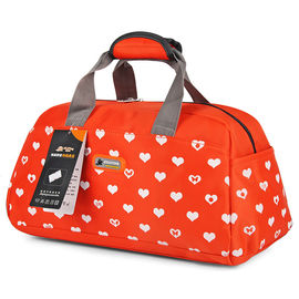 China Printed Custom Duffle Bags , Reusable Nylon Cloth Bag For Ladies supplier