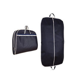 China Folding Hanging Dustproof Garment Bags , Recycled Mens Travel Clothes Bags supplier