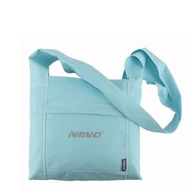 China Promotional Cotton Custom Messenger Bags , Summer Shoulder Strap Bags For Leisure supplier