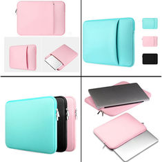 China Casual Neoprene Laptop Sleeve Bag Rusable Zipper Closure For Apple Ipad MacBook supplier