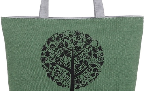 Large Capacity Custom Canvas Bags / Cotton Canvas Tote Bags