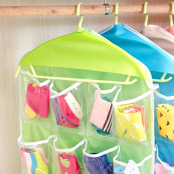 Wall Hanging Garment Bags , Underwear Sorting Storage Bags