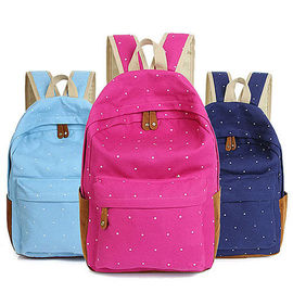 Front Pocket Kids Custom Logo Backpacks Middle School With Side Bottle Holder